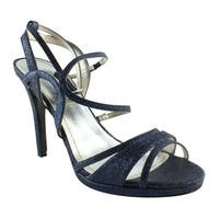 Caparros Womens Topax Blue Ankle Strap Sandals Size 10