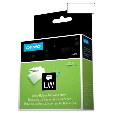 Dymo 30330 dymo return address labels - labels - address labels ( 500 per sheet/roll) - White