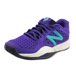 New Balance WC996 Round Toe Synthetic Tennis Shoe