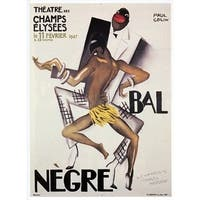 ''Bal Negre'' by Paul Colin African American Art Print (43.75 x 33 in.)