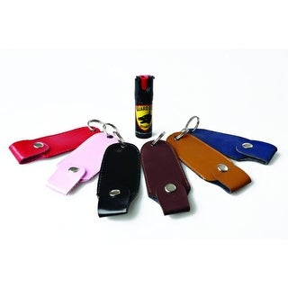 Guard Dog PS-GDAFOC18-BK Keychain Pepper Spray w/ Laser Sight (Black)