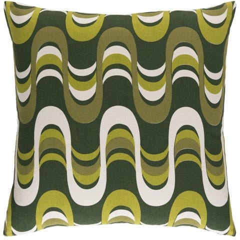 Decorative 18-inch Coast Throw Pillow Shell