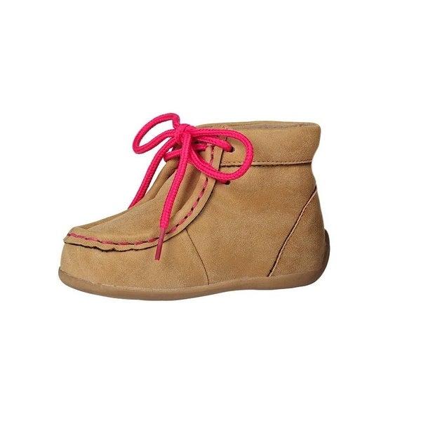 Blazin Roxx Western Shoes Girls Reagan Lace Up Soft Washed