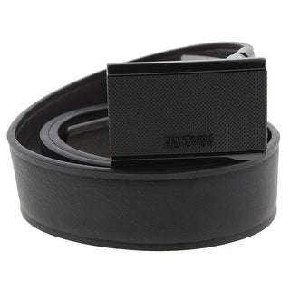 Kenneth Cole Reaction Mens Dress Belt Faux Leather Reversible - 38