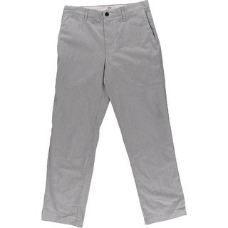 Dockers Mens Field Khaki Straight Fit Flat Front Khaki Pants