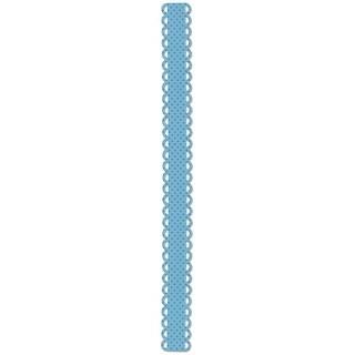 Sizzix Sizzlits Decorative Strip Die By Doodlebug-Loopy Scallops