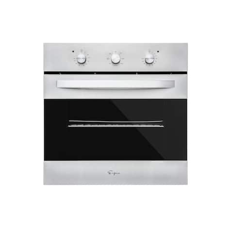 24 in. Built-in Electric Single Wall Oven in Stainless Steel