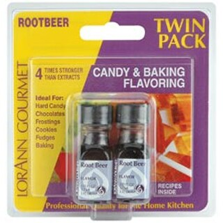 Root Beer - Candy & Baking Flavoring .125Oz Bottle 2/Pkg