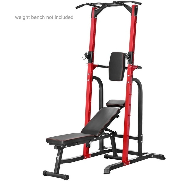 Zenova Power Tower Pull-Up Bars Workout Dip Stands Strength. Opens flyout.