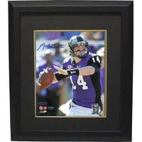 Andy Dalton signed TCU Horned Frogs 8x10 Photo Custom Framed Dalton Hologram