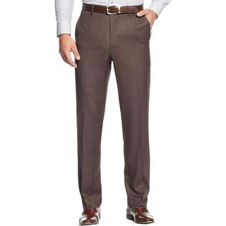 MICHAEL Michael Kors Mens Dress Pants Textured Deep Pocket