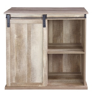 Link to Carbon Loft Leguizamo Sliding Barn Door Wine Cabinet Similar Items in Dining Room & Bar Furniture