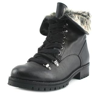 BC Footwear Antics Women Round Toe Leather Boot