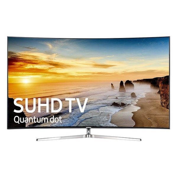 Shop Samsung 55 Inch Class Ks9500 9 Series Flat Uhd Led Smart Tv