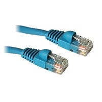 Cat6 550MHz Molded Ethernet Patch Cable, Blue, 14 ft.