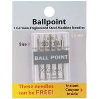 Size 14/90 5/Pkg - Klasse Ball Point Machine Needles