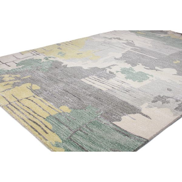 Bashian Murray Contemporary Hand Tufted Area Rug On Sale Overstock 31429397