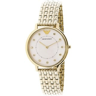 Emporio Armani Women's AR11007 Gold Stainless-Steel Fashion Watch
