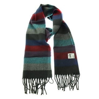 The Rail Mens Striped Woven Rectangle Scarf - o/s