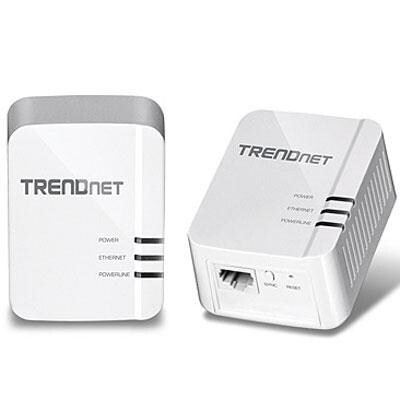 Trendnet Tpl-420E2k Powerline Av2 Av1200 Adapter Kit, Up To 1.2Gbps