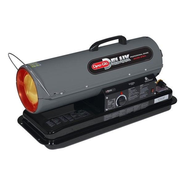 Dyna-Glo Delux KFA80DGD 80000 BTU Kerosene Forced Air Heater - grey