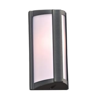 "PLC Lighting 2702 1 Light 5"" Wide Outdoor Wall Sconce from the Lukas Collection"