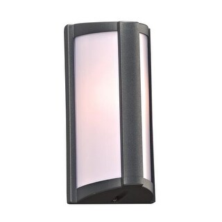 """PLC Lighting 2702 1 Light 5"""" Wide Outdoor Wall Sconce from the Lukas Collection"""