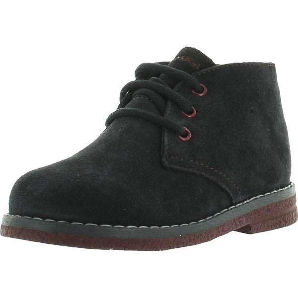 Primigi Boys Zizzy Lace Up Casual Chukka Boots - cuoio