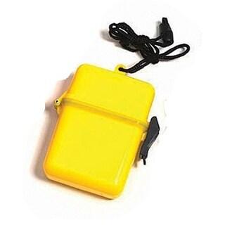 "4.5"" Yellow Waterproof Personal Swimming Pool Beach Accessory Case"