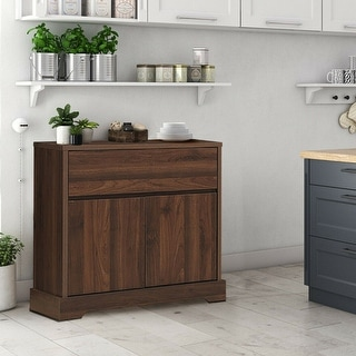 Link to Buffet Sideboard Storage Console Table Server Cupboard Cabinet - Clear Similar Items in Dining Room & Bar Furniture