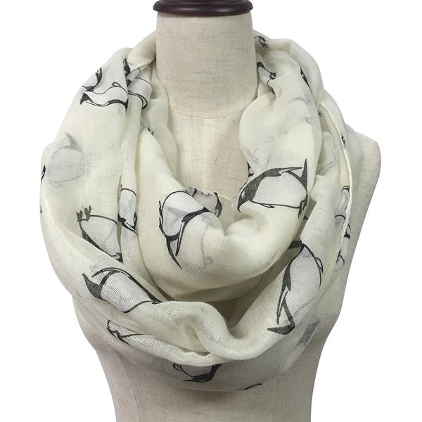 026b00ab775 Women's Animal Print Light Weight Soft Large Infinity Scarf