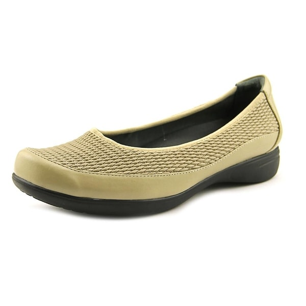 FootSmart Karen Women W Round Toe Leather Loafer