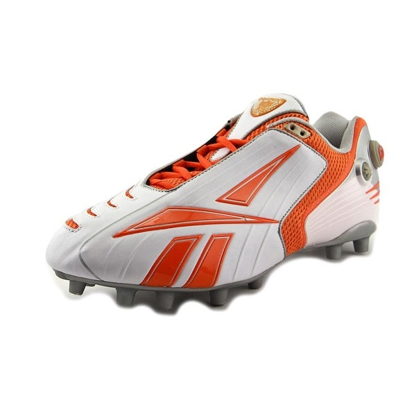 Reebok Pro Pump Burnerspd Low M2 Men White/Orange Cleats