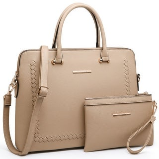 Link to Dasein Women Briefcase Satchel Handbag with Matching Wristlet Similar Items in Briefcases