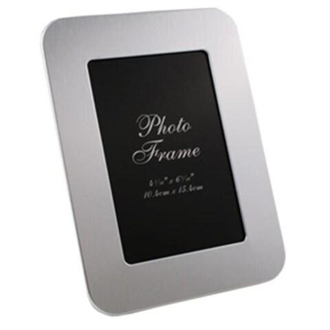 Visol VAC616 Zafina Brushed Aluminium Photo Frame