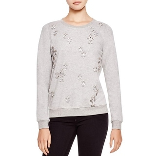 Soft Joie Womens Marha Sweatshirt French Terry Embellished