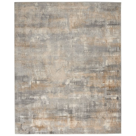 Calvin Klein Rush Abstract Area Rug