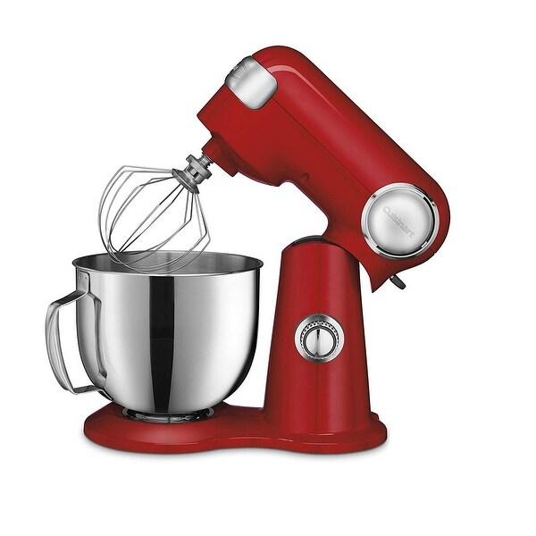 Cuisinart SM-50R Precision Master™ 5.5-Quart Stand Mixer, Red