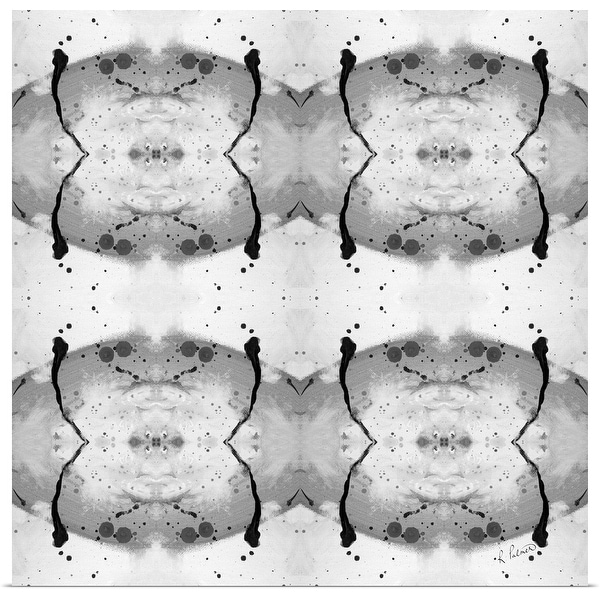 """""""Blob Pattern II"""" Poster Print"""