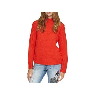 Sanctuary Womens Fiona Pullover Sweater Turtleneck Knit