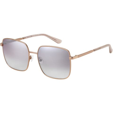 JUICY COUTURE JU605S 0AU2 56 RED GOLD FEMALE ADULT RECTANGULAR Sungasses