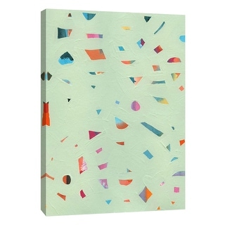 "PTM Images 9-108660  PTM Canvas Collection 10"" x 8"" - ""Confetti 3"" Giclee Abstract Art Print on Canvas"