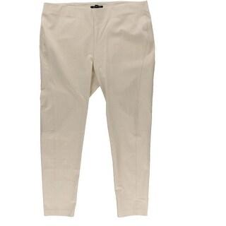 Ralph Lauren Womens Flat Front Stretch Casual Pants