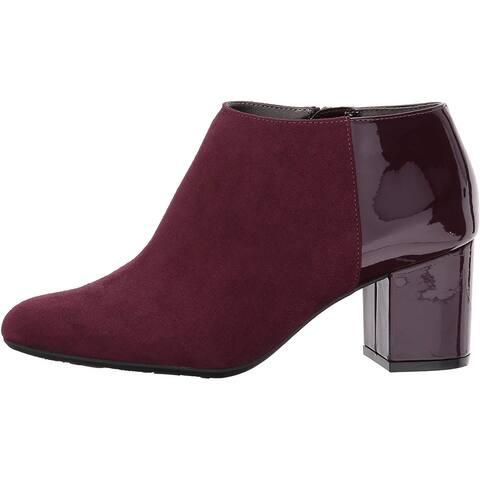 LifeStride Womens Parigi booti Almond Toe Ankle Fashion Boots