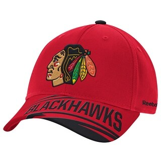 Chicago Blackhawks Reebok Face-Off Adjustable Hat