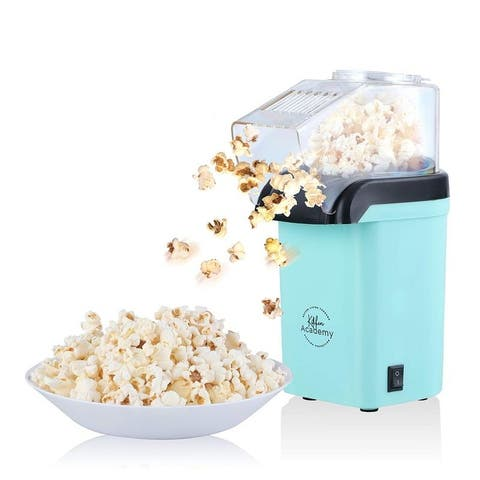 Kitchen Academy Popcorn Popper Maker, Best Choice for Family Movie night.