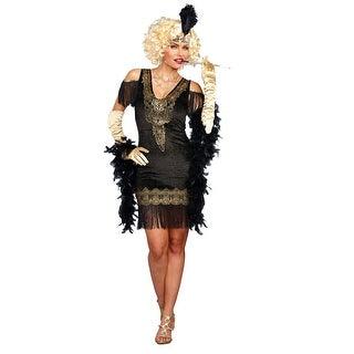 Women's Swanky Flapper Costume