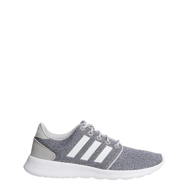 Shop Adidas Women's Cloudfoam Qt Racer Running Shoe Free