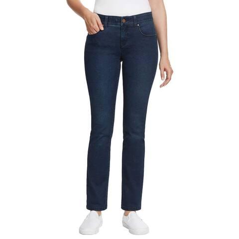 Jones New York Women Jones Slim Leg Mid-Rise Jeans Pants - 8/29