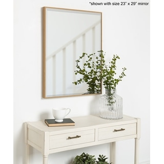 Link to Rhodes Framed Decorative Rectangle Wall Mirror Similar Items in Mirrors